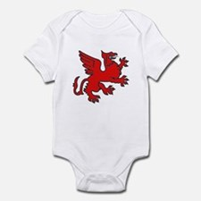 Red Griffin Infant Creeper
