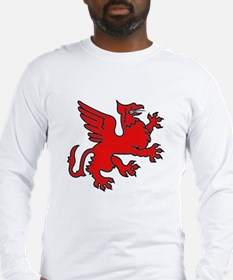 Red Griffin Long Sleeve T-Shirt