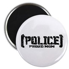 Police Proud Mom Magnet
