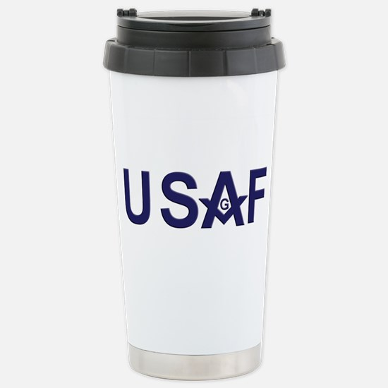 Air Foce Masons Stainless Steel Travel Mug
