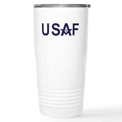 Air Foce Masons Travel Mug