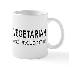 Proud Vegetarian Mug
