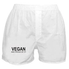 The Proud Vegan Boxer Shorts