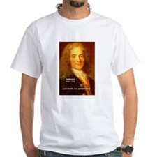 French Philosopher: Voltaire Shirt