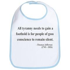Thomas Jefferson 4 Bib