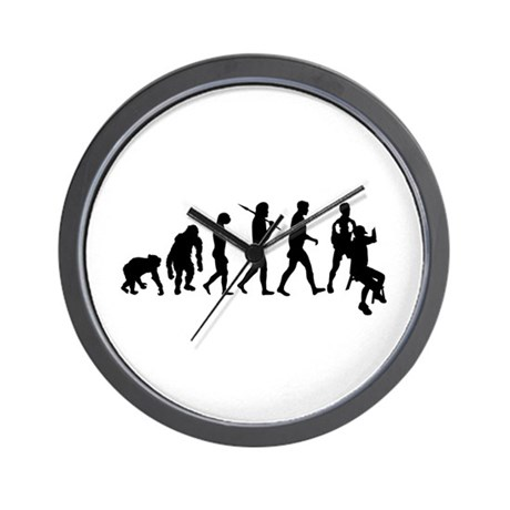 Personal trainer fitness gym Wall Clock