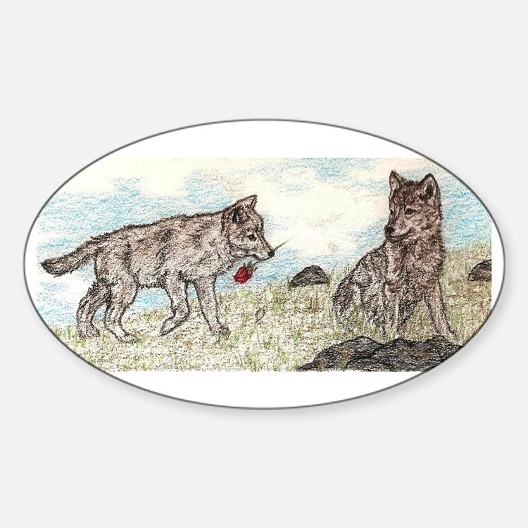 Gifts Oval Decal