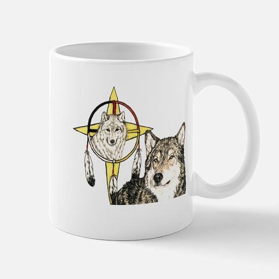 Hidden Forces Wolf Mug