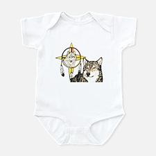 Hidden Forces Wolf Infant Bodysuit
