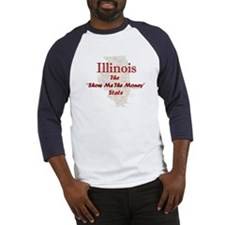 Illinois Show Me The Money Baseball Jersey