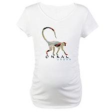 monkey design white t Shirt