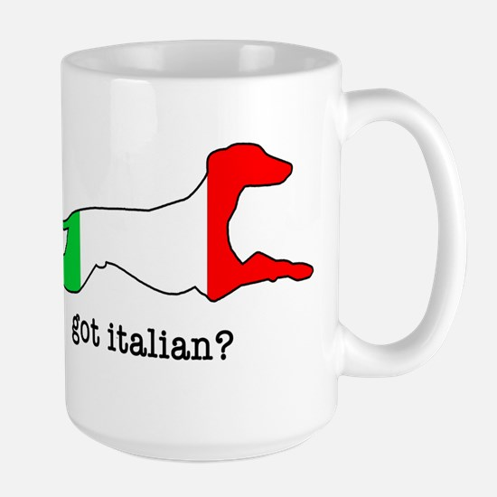 Got Italian? Large Mug