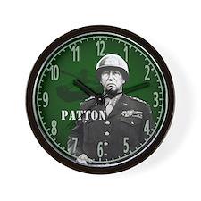 George S Patton Wall Clock