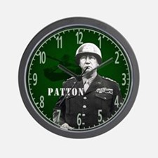 George S Patton Wall Clock