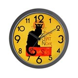 Black cat clock Basic Clocks