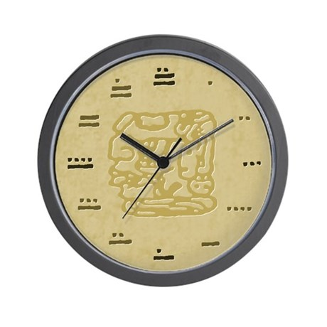 Mayan Numbers Maya Wall Clock