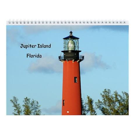 Atlantic Coast Lighthouses Wall Calendar