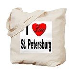 I Love St. Petersburg Tote Bag