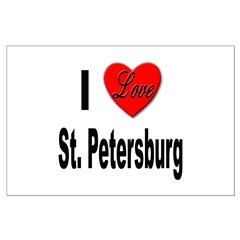 I Love St. Petersburg Posters