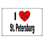 I Love St. Petersburg Banner