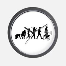 Film Projectionist Wall Clock