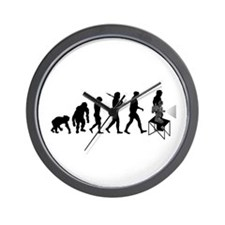 Projectionist film movie theater Wall Clock