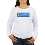 Justice Women's Long Sleeve T-Shirt