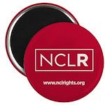 Red NCLR Round Magnet