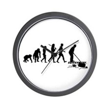 Pool Cleaner Wall Clock