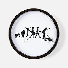Pool Cleaner Wall Clock