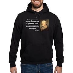 Thomas Jefferson 7 Hoodie (dark)