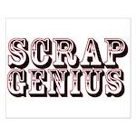 Scrap Genius Small Poster
