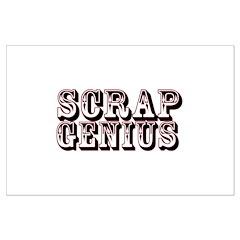 Scrap Genius Posters