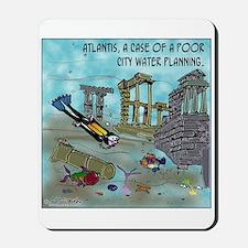 Atlantis Water Planning Mousepad