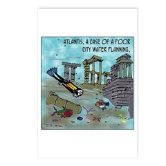 Atlantis Water Planning Postcards (Package of 8)