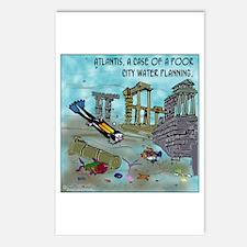 Atlantis Water Planning Postcards (Package of 8)