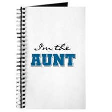 Blue I'm the Aunt Journal