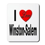 I Love Winston-Salem Mousepad