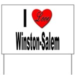 I Love Winston-Salem Yard Sign