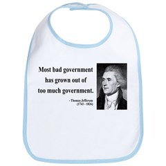 Thomas Jefferson 8 Bib
