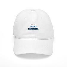 Blue I'm the Great Grandma Baseball Cap