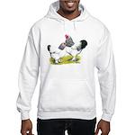 Light Brahma Pair Hooded Sweatshirt