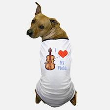 I Love My Viola Dog T-Shirt