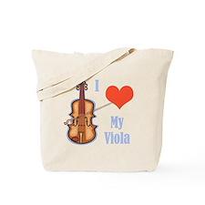 I Love My Viola Tote Bag