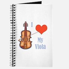 I Love My Viola Journal