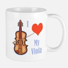 I Love My Viola Mug