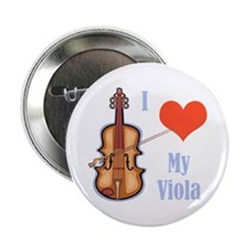 "I Love My Viola 2.25"" Button"