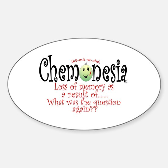 chemonesia Sticker (Oval)