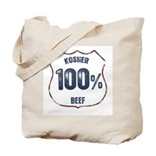 100% Kosher Beef Tote Bag