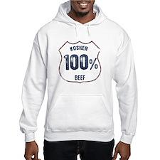 100% Kosher Beef Hoodie
